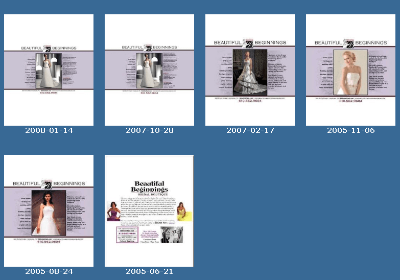 Screenshot History